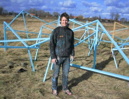 Blå kunst på Tippen, 2008