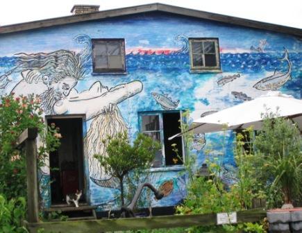 Vincent Flemmings kunst-atelier i Bådehavnsgade 47, 2004.